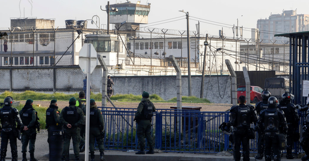 Prison Riots in Colombia Over Virus Fears Leave at Least 23 Dead